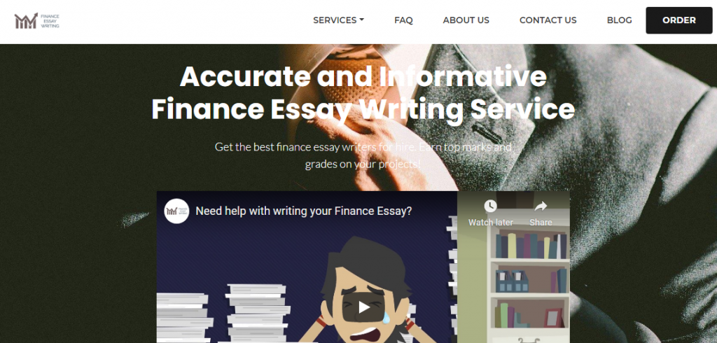 Business essay writing services